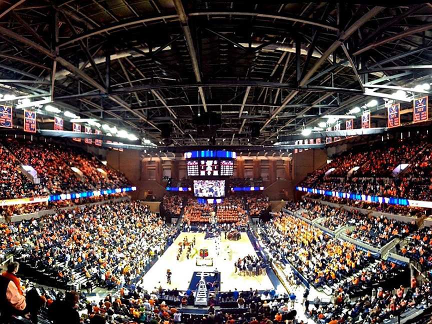 John Paul Jones Arena Or Jpj Is An Owned By The University Of Virginia In Charlottesville